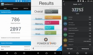 benchmark speed test sony xperia m5 review