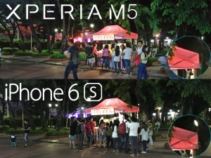 iphone 6s vs sony xperia m5 camera review