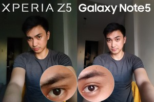 galaxy note 5 vs xperia z5 camera review selfie front cam 10