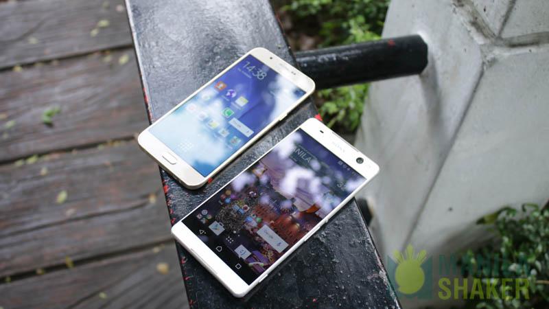 Vergleich zwischen OnePlus 5 Samsung Galaxy C7 Pro
