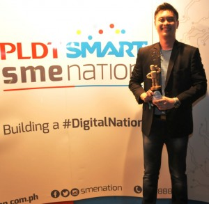 Chino Atilano pldt smart sme nation bozz awards philippines