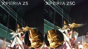 sony xperia z5 vs z5 compact camera