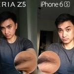 iphone 6s vs xperia z5 camera