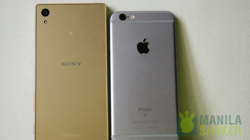 Sony xperia z5 vs iphone 7