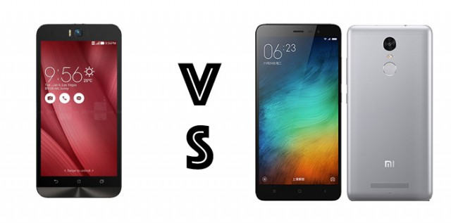 asus zenfone selfie vs redmi note 3 specs comparison philippines