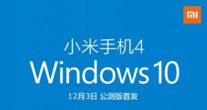 windows 10 mobile xiaomi mi 4
