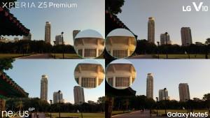 xperia z5 premium vs galaxy note 5 lg v10 nexus 6p1