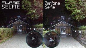 night low cherry flare selfie vs zenfone selfie camera comparison review1