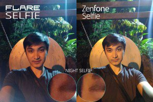 night low cherry flare selfie vs zenfone selfie camera comparison review5