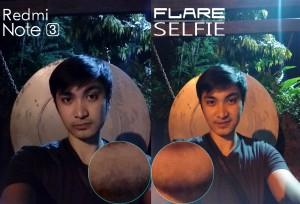night shot cherry flare selfie v redmi note 34
