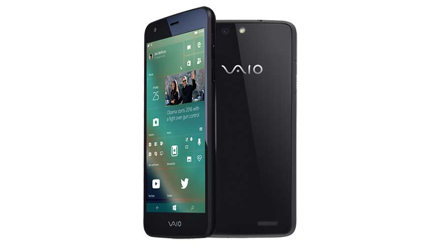 VAIO Windows 10 Mobile Phone official launch on February 4 in Japan