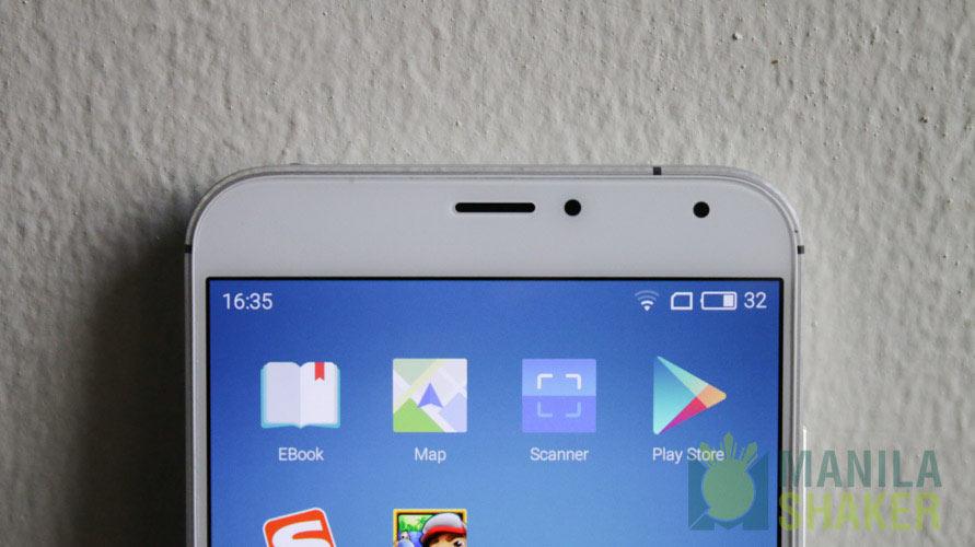 Front-facing Selfie Camera Meizu MX5 Review