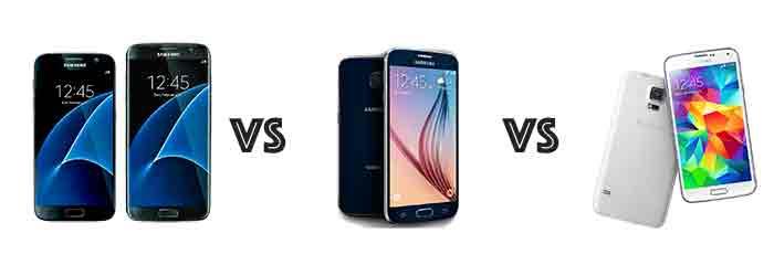 Samsung galaxy s5 s6 s7 image specs comparison philippines