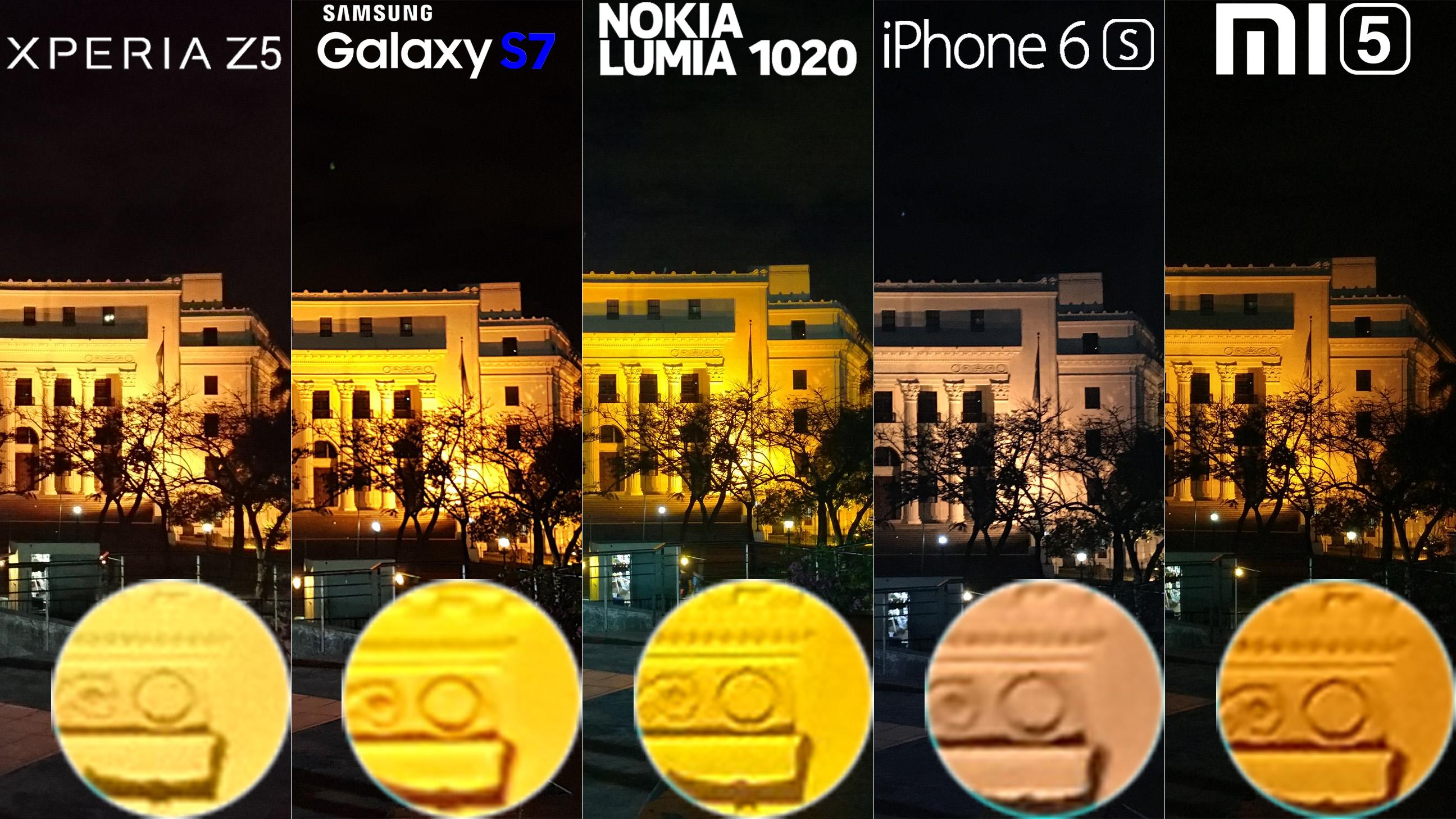 Galaxy S7 Xperia Z5 Lumia 1020 iphone 6s Xiaomi Mi 5 Camera Review Comaprison 10