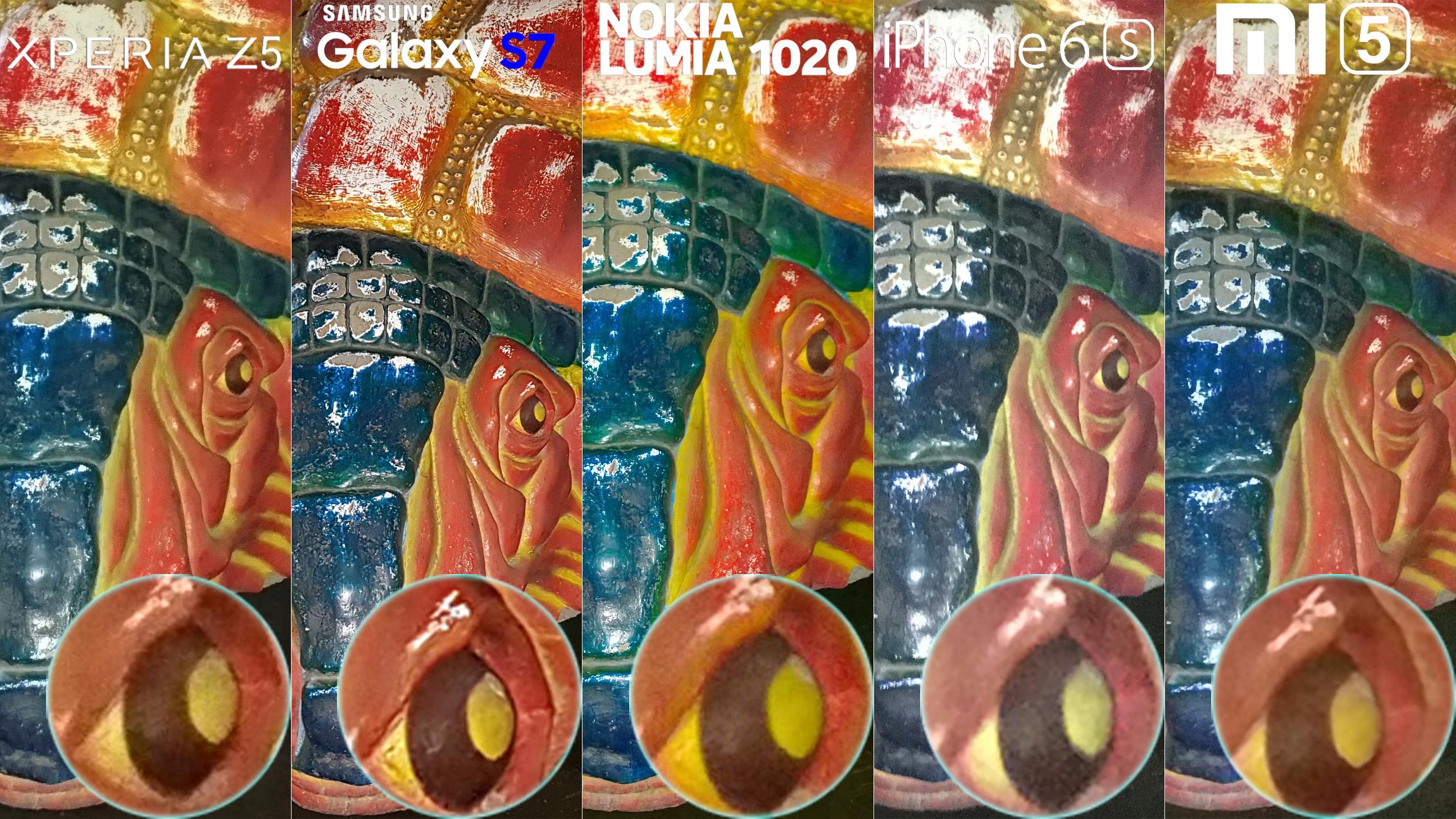 Galaxy S7 Xperia Z5 Lumia 1020 iphone 6s Xiaomi Mi 5 Camera Review Comaprison 11