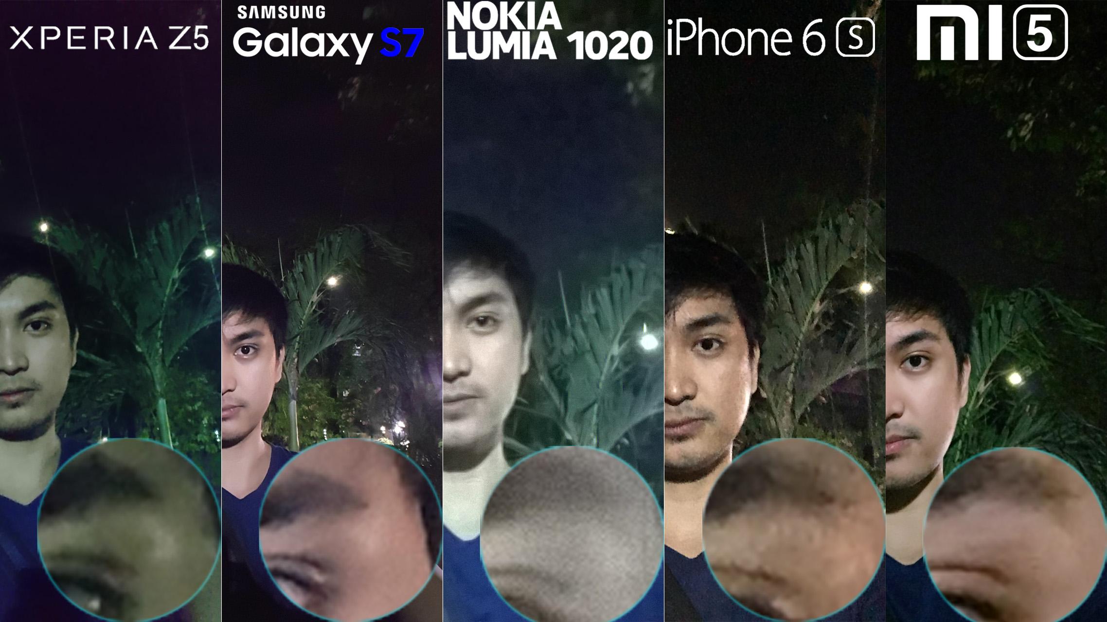 Galaxy S7 Xperia Z5 Lumia 1020 iphone 6s Xiaomi Mi 5 Camera Review Comaprison 12