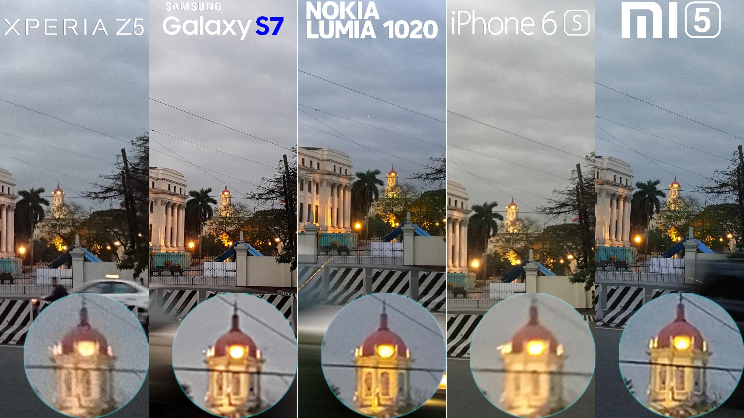 Galaxy S7 Xperia Z5 Lumia 1020 iphone 6s Xiaomi Mi 5 Camera Review Comaprison 7