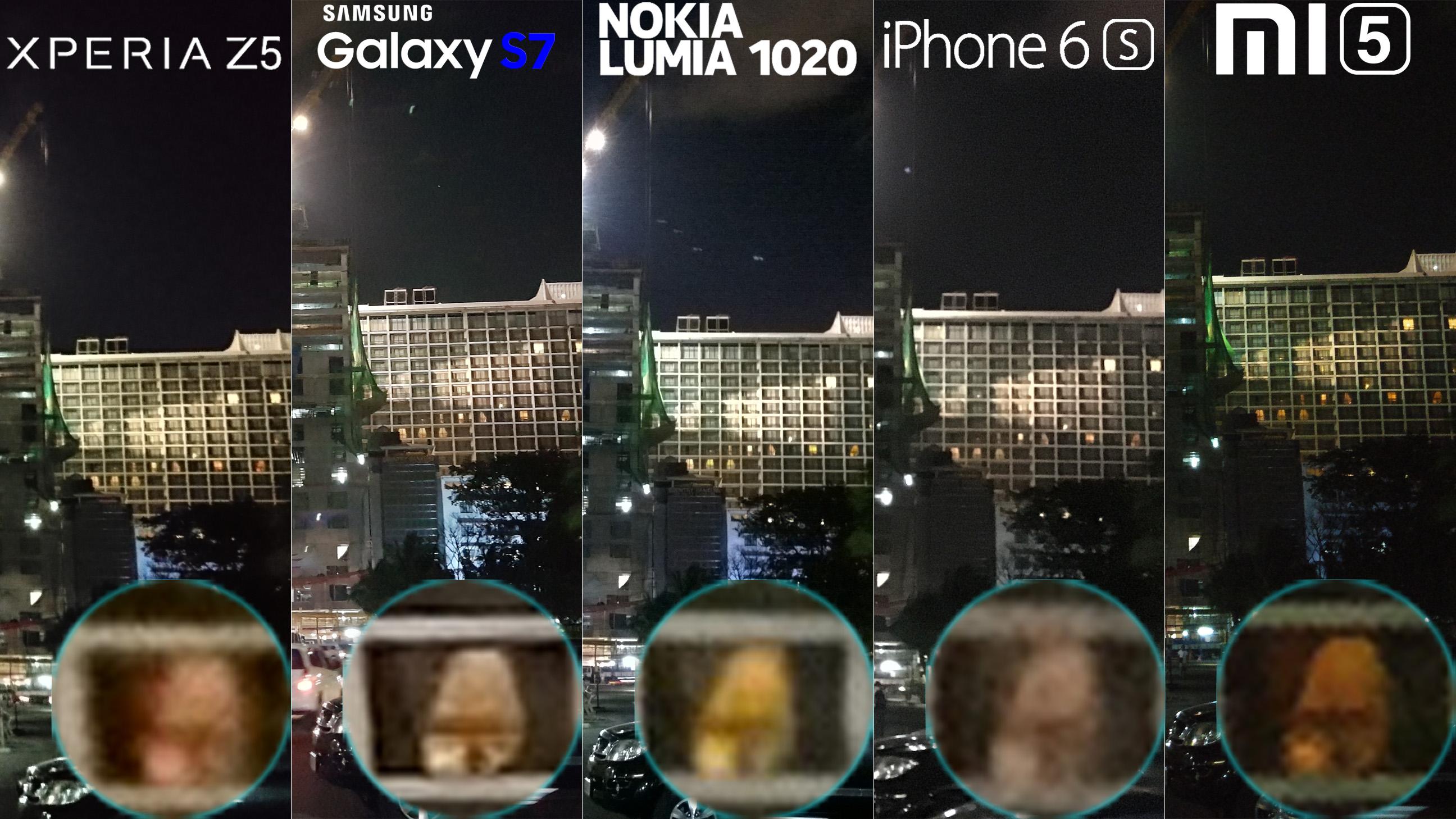 Galaxy S7 Xperia Z5 Lumia 1020 iphone 6s Xiaomi Mi 5 Camera Review Comaprison 9