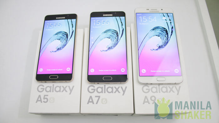 samsung galaxy a5 a7 a9 2016 model hands on first impressions2