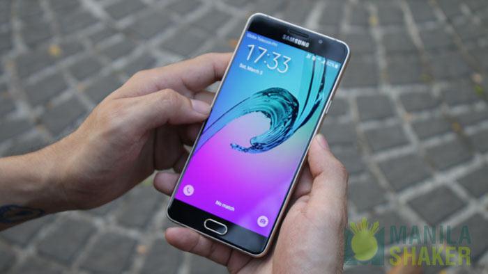 Samsung Galaxy A7 2016 Hands on