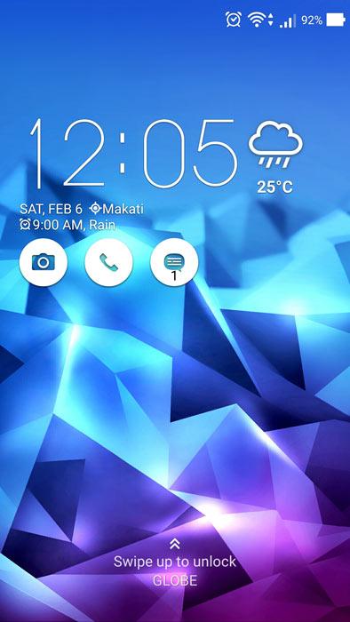 Asus Zenfone Zoom Zen UI UX Home Android 6.0 Marhsmallow
