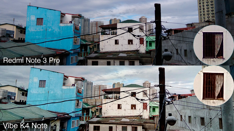 Vibe K4 Note VS Redmi Note-3 Pro camera comparison building sample shots philippines