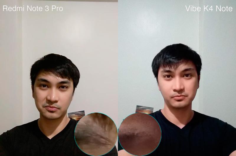 Vibe K4 Note VS Redmi Note 3 Pro camera comparison selfie sample philippines