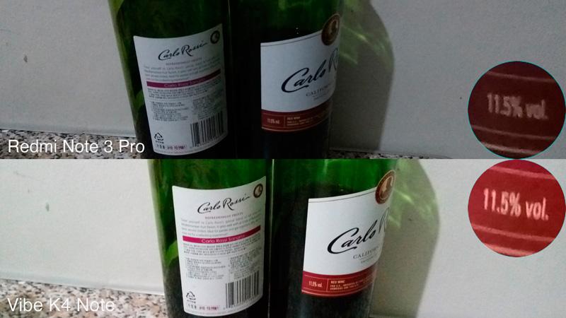 Vibe K4 Note VS Redmi Note 3 Pro camera comparison wine sample philippines