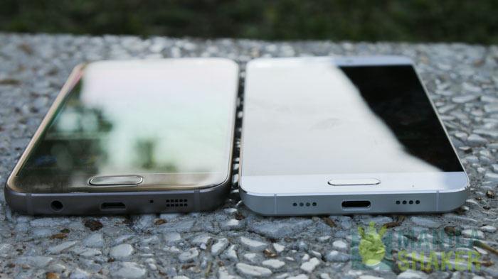 Ports Galaxy S7 Vs Mi 5 Design Review Comparison Ph 1