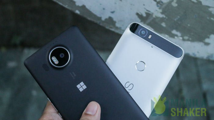 Microsoft Lumia 950 XL vs Huawei Nexus 6P Camera Comparison Review PH 1