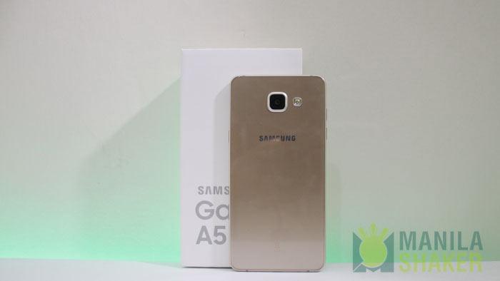 samsung Galaxy A5 Content Box