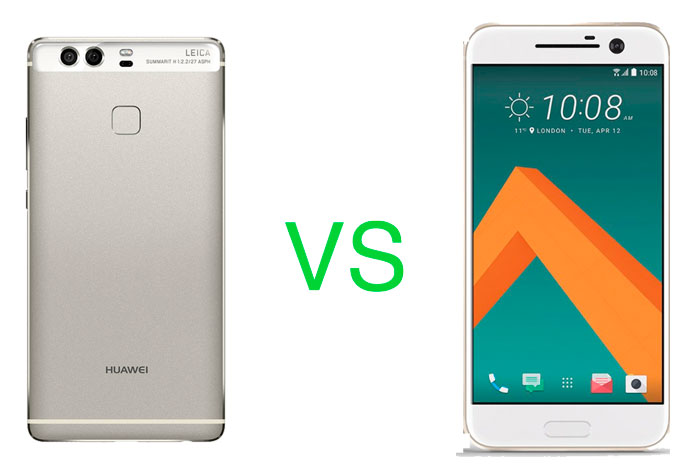 HTC 10 VS Huawei P9 specs comparison philippines images