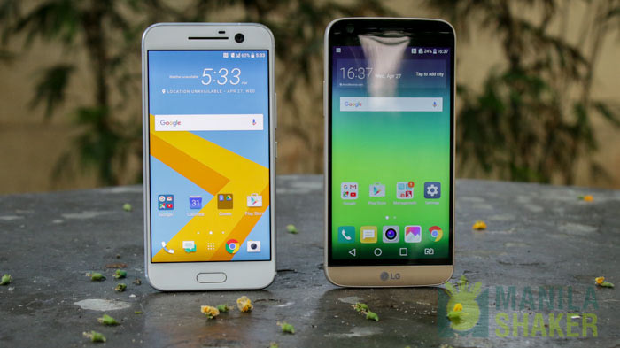 HTC 10 vs LG G5 Ultimate Comparison Review PH 10