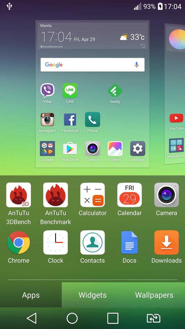 LG G5 Android 6 Marshmallow UI Optimus screenshot 16
