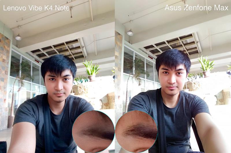 Lenovo Vibe K4 Note VS Zenfone Max camera samples selfie daylight philippines