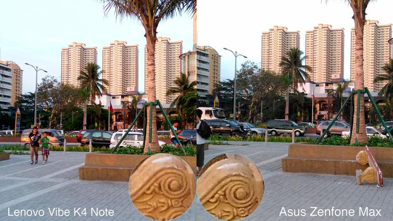 Lenovo Vibe K4 Note VS Zenfone Zoom sunset camera comparison philippines