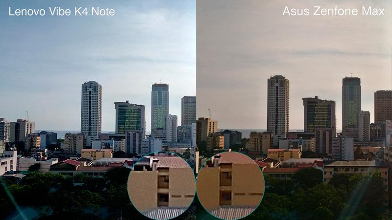 Lenovo Vibe K4 Note VS Zenfone max hdr camera sample philippines