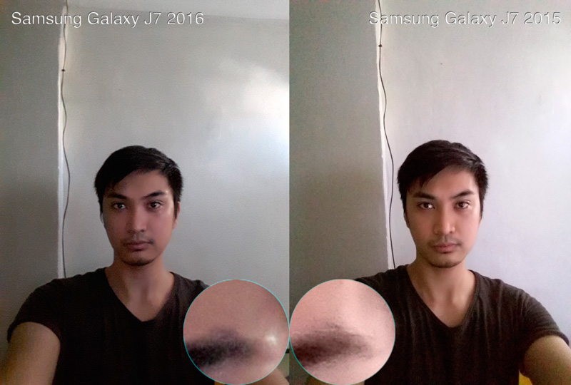 samsung galaxy j7 2016 vs 2015 camera sample shots selfie