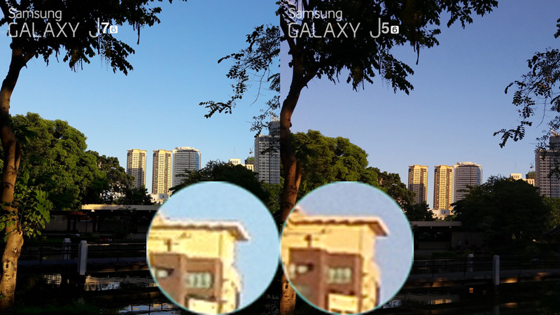Samsung Galaxy J7 2016 vs Galaxy J5 2016 Camera Review Comparison PH 6