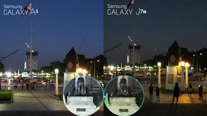 Samsung galaxy a5 2016 vs galaxy j7 2016 comparison camera review 1