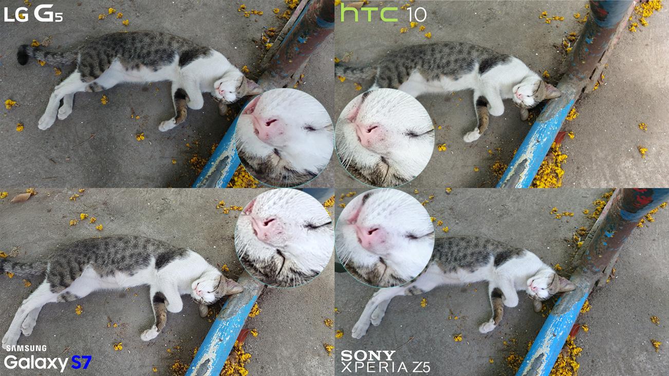 No HDR LG G5 vs HTC 10 vs Galaxy S7 vs Xperia Z5 Camera Full Comparison 2