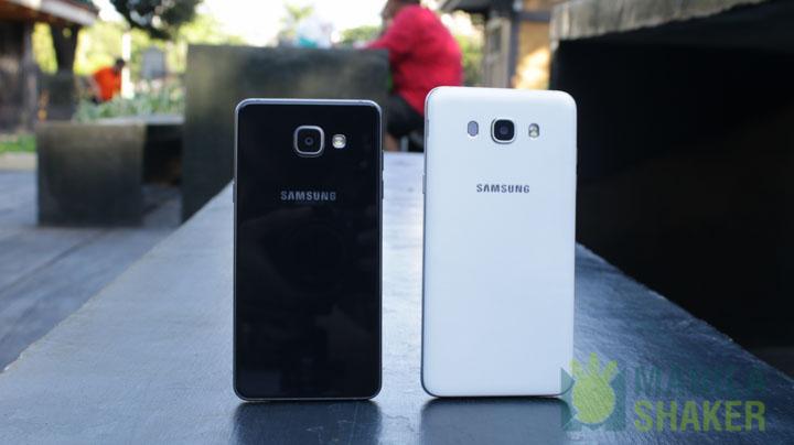 Samsung Galaxy A5 2016 Vs Galaxy J7 2016 Comparison Camera
