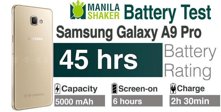 Battery Life Review Samsung Galaxy A9 Pro 2016