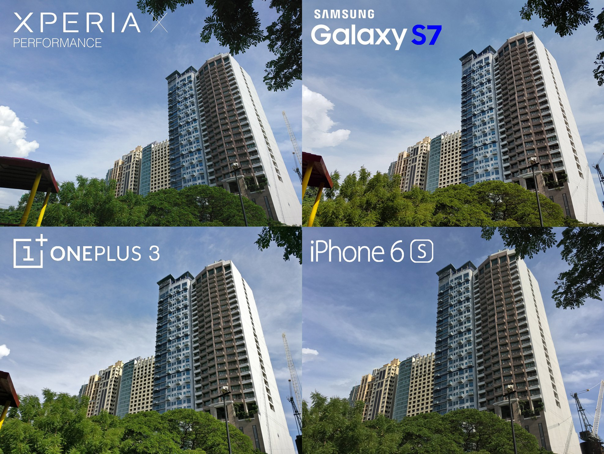 Camera Review Sony Xperia X Performance Samsung Galaxy S7 iPhone 6s 7 OnePlus 3 1