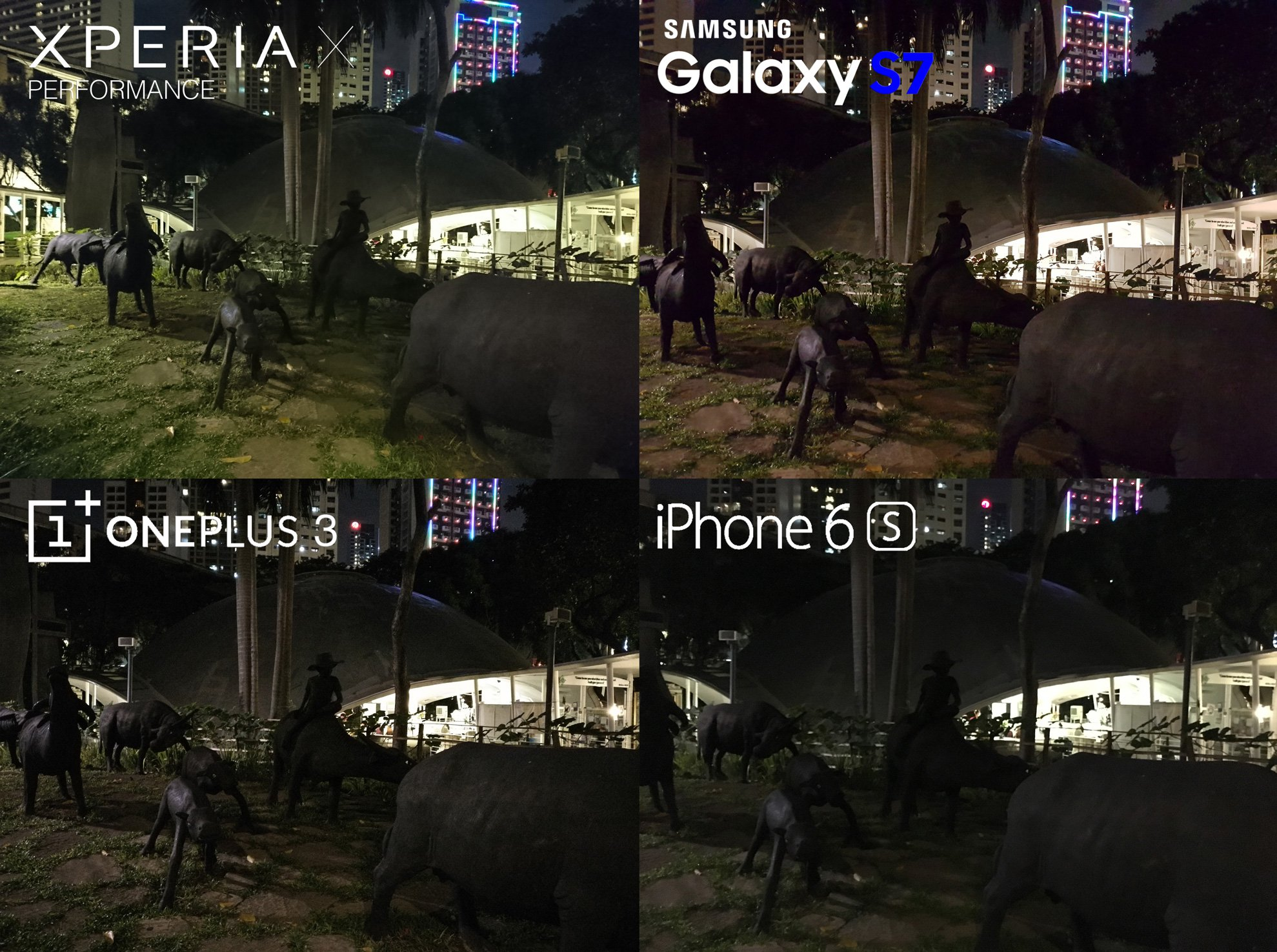 Camera Review Sony Xperia X Performance Samsung Galaxy S7 iPhone 6s 7 OnePlus 3 4