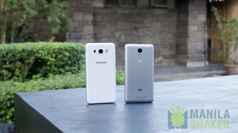 Samsung Galaxy J7 2016 vs Xiaomi Redmi Note 3 PRO Review 3