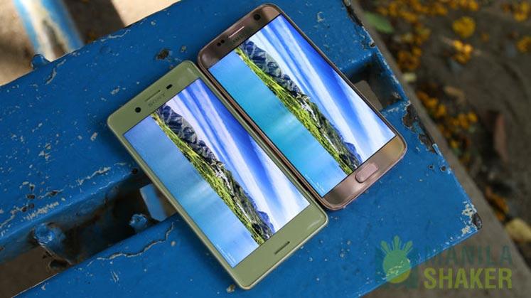Sony Xperia X Performance Review vs Samsung Galaxy S7 Comparison 14