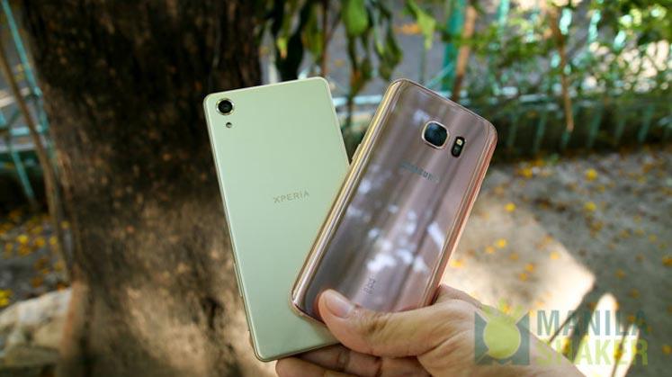 Sony Xperia X Performance Review vs Samsung Galaxy S7 Comparison 16