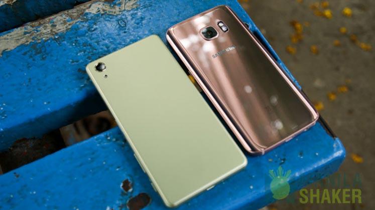 Sony Xperia X Performance Review vs Samsung Galaxy S7 Comparison 3