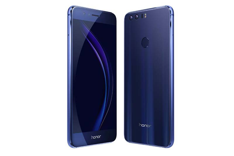 Huawei Honor 8 Features Dual 12mp Cameras Curved Glass